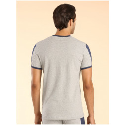 GUESS - T/Shirt mezzamanica con scritte