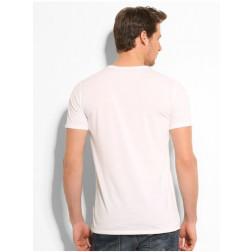 GUESS - T-Shirt mezzamanica con stampa