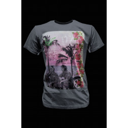 BOMBOOGIE - T-shirt stampa spiaggia