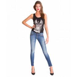 MET - Jeans con zip