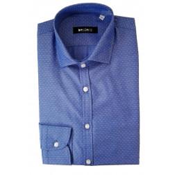 BESILENT - Camicia microfantasia