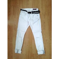 DISPLAJ - Pantalone con cinta