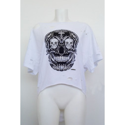 MET - T-shirt stampa teschio