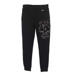 MET - Pantalone felpa con teschio