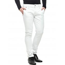 GUESS - Pantalone superskinny cotone