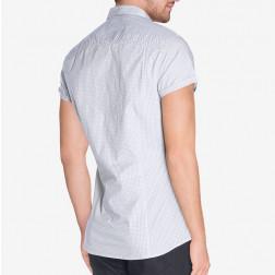 GUESS - Camicia micro fantasia
