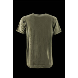 BOMBOOGIE - T-shirt stondata al fondo