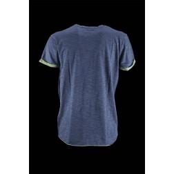 BOMBOOGIE - T-shirt bicolore