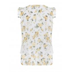 RINASCIMENTO - Blusa smanicata a fiori
