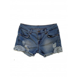 RINASCIMENTO - Short in denim