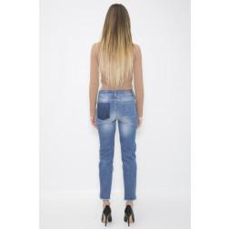 KONTATTO - Jeans banda laterale