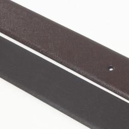 ARMANI JEANS - Cintura reversibile moro nero