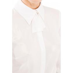 ELISABETTA FRANCHI - Camicia con fiocco
