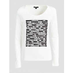 GUESS - T-shirt W91I56 K19U1 TWHT