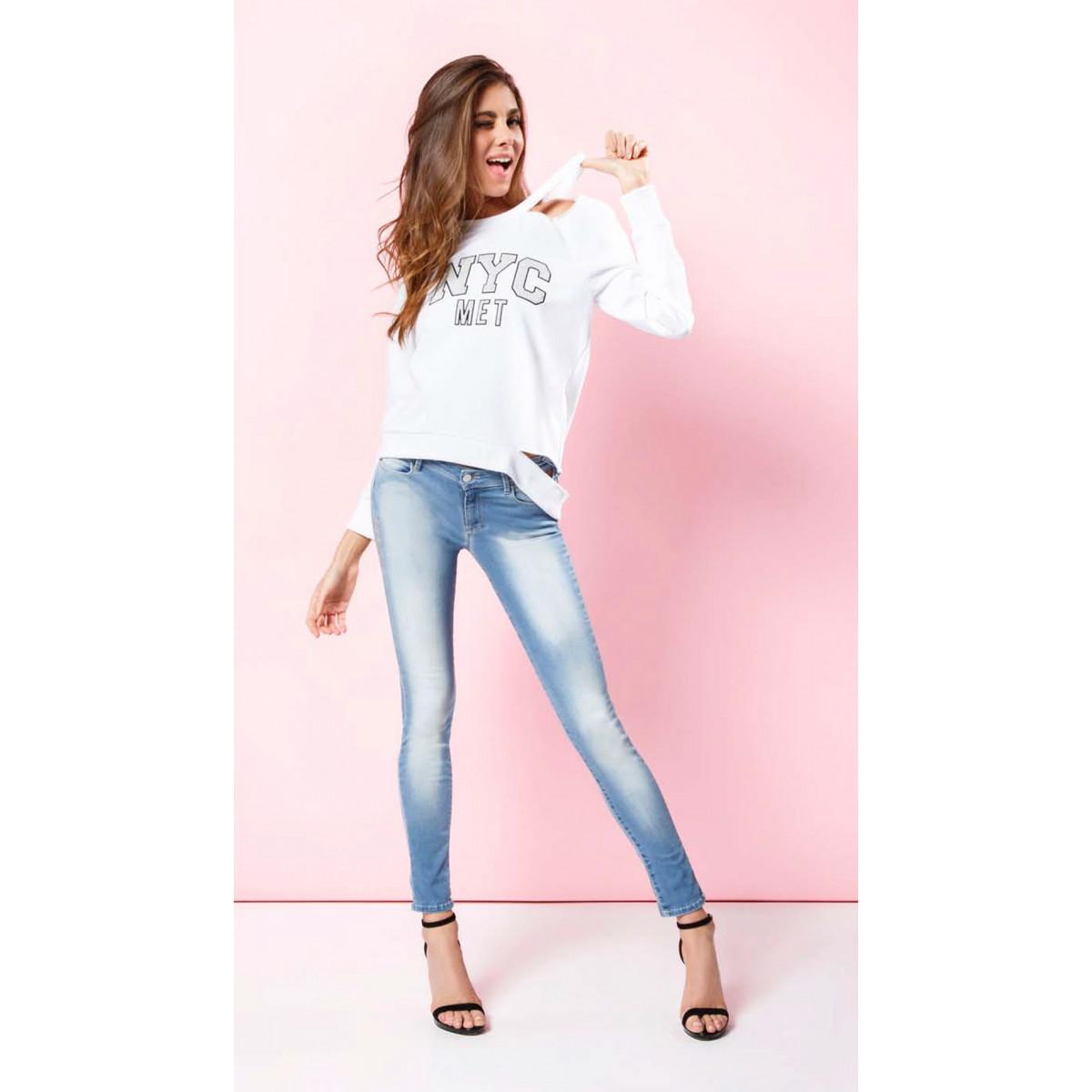 1c3d5ac13ac6 MET - Jeans push up - Jeans - WOMAN - Gruppo CAT Shop Online