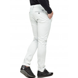 GUESS - Pantalone superskinny cotone