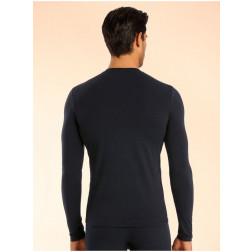 GUESS - T/Shirt girocollo manica lunga