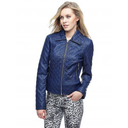 GUESS - Giacca trapuntata effetto All Over