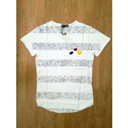 DISPLAJ - T-shirt con spille