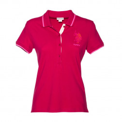 U.S. POLO ASSN - Polo in micro piquet stretch.