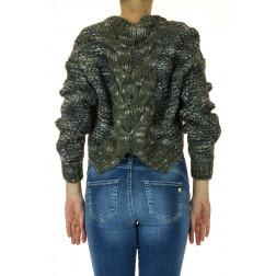 FRACOMINA - Maglia corta in lana