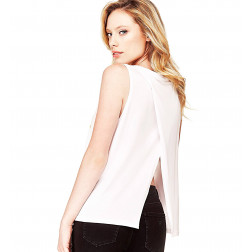 GUESS - Top logo frontale