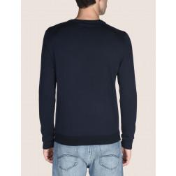 ARMANI EXCHANGE - Maglia in cotone e cashmere