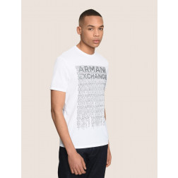 ARMANI EXCHANGE - T-shirt stampata