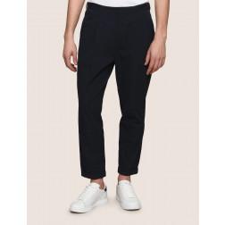 ARMANI EXCHANGE - Pantalone fronte pieghettato