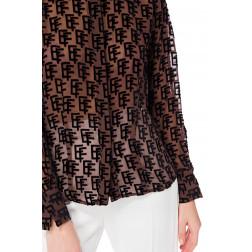 ELISABETTA FRANCHI - Camicia in velluto