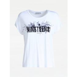 GUESS - T-shirt W93I74 K68D0 TWHT