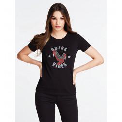 GUESS - T-shirt W93I79 K8RQ0 JBLK