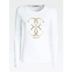 GUESS - T-shirt W94I95 J1300 TWHT