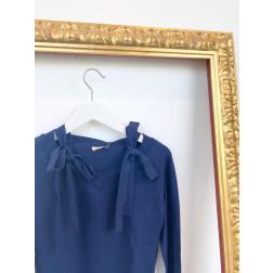 FRACOMINA - Maglia con fiocco sulla spalle Art. FR20SP8002 117