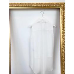 FRACOMINA - Blusa smanicata in chiffon Art. FR20SP032 108