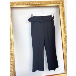 FRACOMINA - Pantaloni cropped con cintura Art. FR20SP691 053
