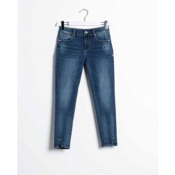 FRACOMINA - Jeans cropped stone washed Art. FR20SPJBETTY 349