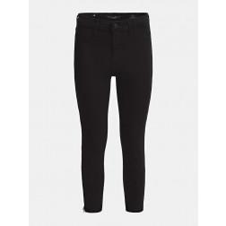 GUESS - Pantalone super skinny zip Art. W02A18 WAMB3 JBLK