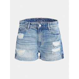 GUESS - Shorts denim slim Art. W0GD18 D3L73 TMRB