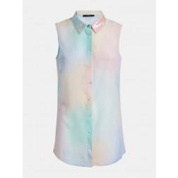 GUESS - Camicia smanicata rainbow Art. W0GH0D W70Q0 P57C