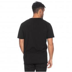 GUESS - T-shirt scritta frontale Art. M01I42 K9GZ0 JBLK