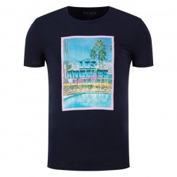 GUESS - T-shirt stampa Los Angeles Art. M0GI70 J1300 G720