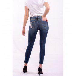 FRACOMINA J - Jeans Bella stone washed used perfect shape Art. FR20SPJBELLA 349