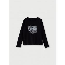 LIU JO SPORT - T-shirt scritta stampata TF0137 J0088 22222