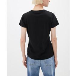 LIU JO SPORT - T-shirt applicazioni strass TF0063 J0088 09907