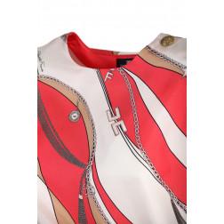 ELISABETTA FRANCHI - Camicia in seta con stampa foulard Art. CA27902E2 Y73
