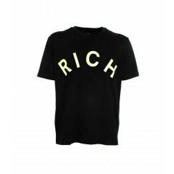 RICHMOND - T-shirt con scritta Art. UMP20027TS