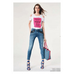 DENNY ROSE - Shopper in denim Art. 011ND90006 2001