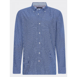 TOMMY HILFIGER - Camicia a quadri button down Art. MW12791 0MS