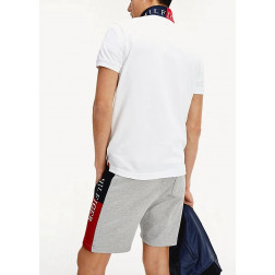 TOMMY HILFIGER - Polo con logo sotto il colletto Art. MW13084 YBR